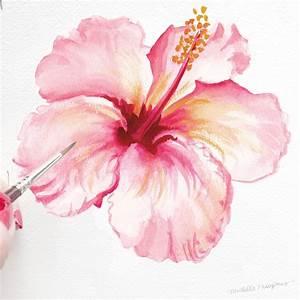In Bloom: Tropical Hibiscus   Mospens Studio Custom ...