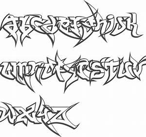 Graffiti Wildstyle Font Graffiti Font Styles Related ...