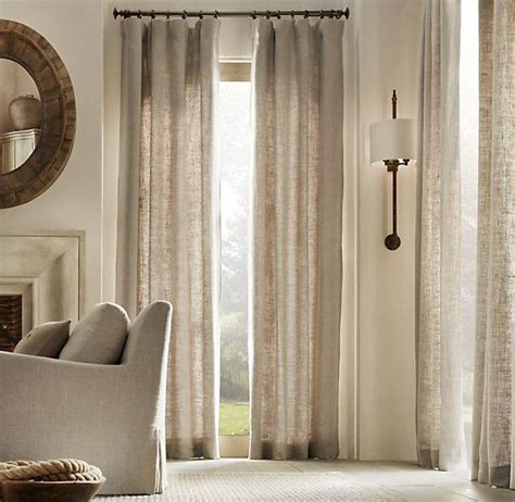 restoration hardware curtain rod brackets 25 best ideas about linen curtains on design