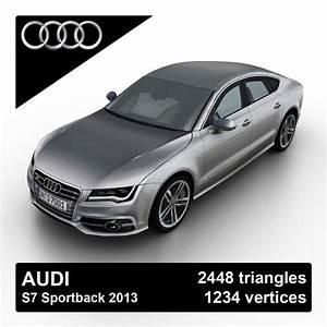 Audi S7 Sportback : 3d 2013 audi s7 sportback model ~ Medecine-chirurgie-esthetiques.com Avis de Voitures