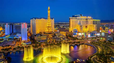 View Across Las Vegas Bing Wallpaper Download