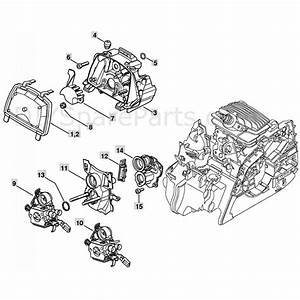 Stihl Ms 211 Chainsaw  Ms211c  Parts Diagram  Air Filter