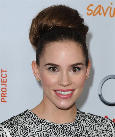 Christa B Allen Straight Formal Updo Hairstyle   Dark