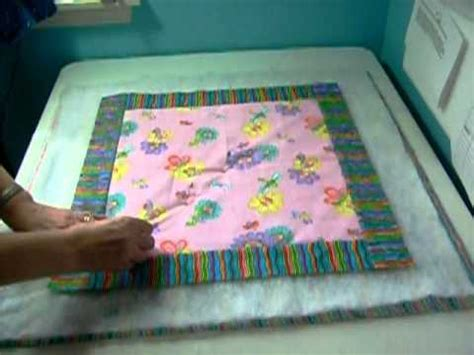 quilt sandwich youtube