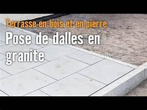 Pose De Dalle 40x40 Sur Sable : terrasse en bois et en pierre chapitre 4 pose de dalles ~ Melissatoandfro.com Idées de Décoration