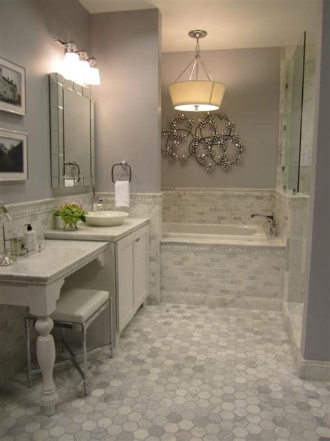 light gray bathroom floor tile ideas  pictures