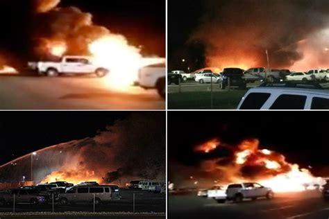 Plane Crash Into A Club Parking Lot In Elko Near Nevada
