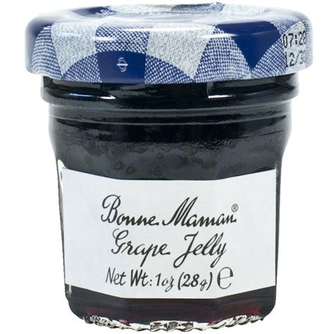 cuisine maman bonne maman grape jelly mini jars buy at gourmet food store