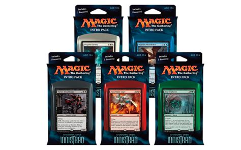 shadows over innistrad intro packs packaging
