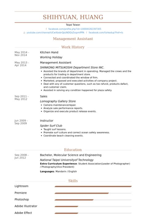 Kitchen Resume Sles by Beautiful Kitchen Staff Resume Sle Contemporary Simple Resume 10 Marketing Resume Sles