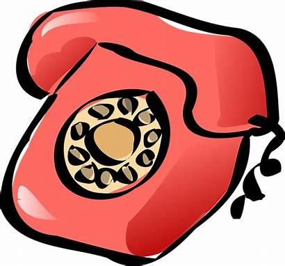 Transparent Phone Telephone Clipart Call Clip Cartoon
