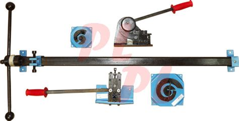 rack and roll bend small metal bender shear ornamental punch rivet bender