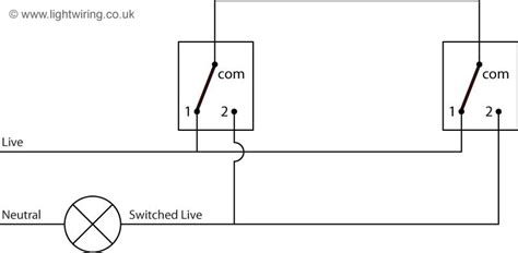 2 way switch 3 wire system cable colours light wiring