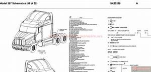 Peterbilt - Pb387 - Model 387 Schematics - Sk30218