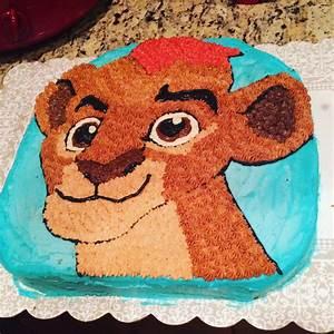 The Lion Guard Kion Cake - CakeCentral com