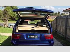 BMW X5 e53 30d, easy opening trunk, tailgate YouTube