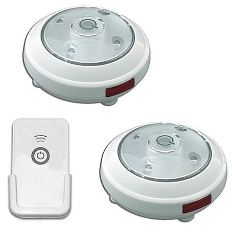 Puck Lights Battery Operated with Remote Control (Set of 2