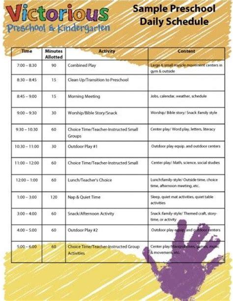 sample preschool schedule getting organized 607 | 8b7cdded1d71be32757c261f65e87aa0