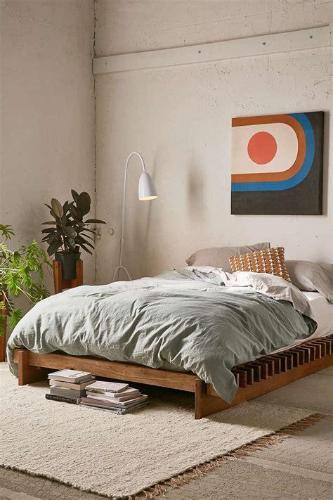 sarah slatted platform bed   platform bed designs