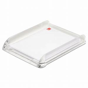 stratus acrylic document tray letter clear With clear letter tray