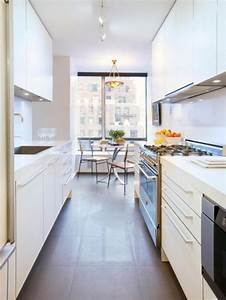 stylish and functional narrow kitchen design ideas 1964