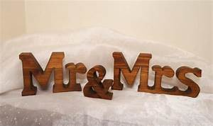 chunky mr and mrs wedding sign letters for wedding With mr and mrs wooden letters for weddings