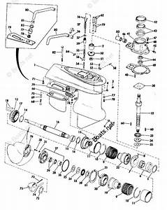 Omc Sterndrive Parts 120hp Oem Parts Diagram For Lower