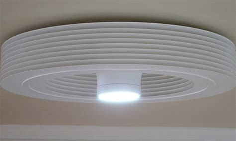 unique bladeless ceiling fan with light modern ceiling
