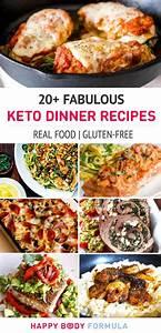20+ Fabulous Keto Dinner Recipes Happy Body Formula
