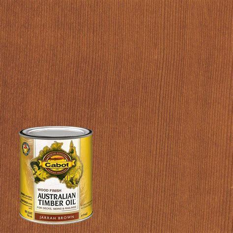 cabot deck stain home depot cabot 1 qt jarrah brown australian timber exterior