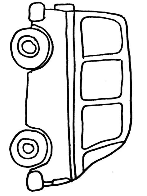 transportation van coloring pages coloring book