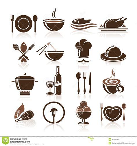 icone cuisine cuisson et ensemble d 39 icône de cuisine illustration de