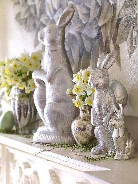 quick easter decorating ideas  easter bunnies simple