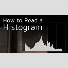 How To Read A Camera Histogram Youtube