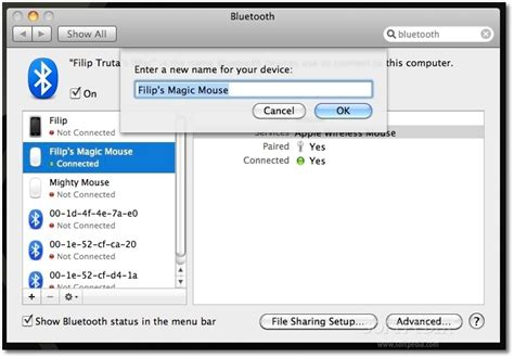 rename bluetooth device iphone kasinathan technology april 2012