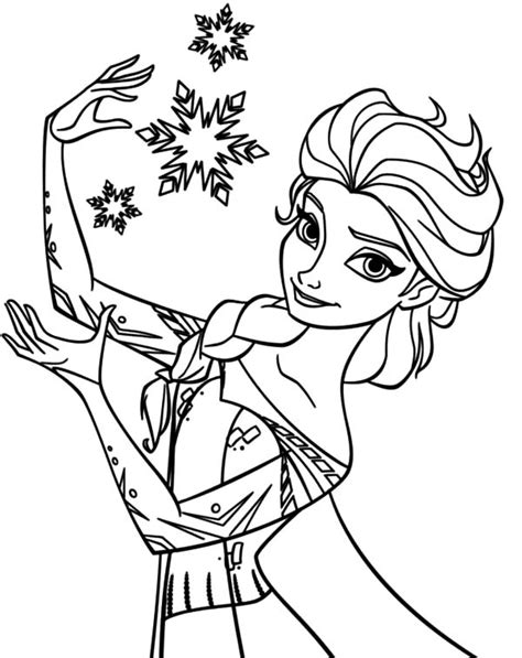 elsa coloring pages coloring sky