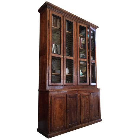 Bookcases For Sale by Fantastic Mahogany Antique Bookcase Cabinet For Sale