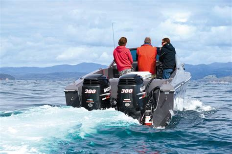 Boat Motors Suzuki by White Pointer 263 Review Trade Boats Australia