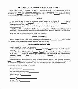sales contract template 15 free word pdf documents With land sale agreement template