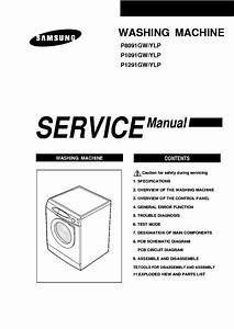 Washing Machine Schematic  Washing Machine Diagram Pdf