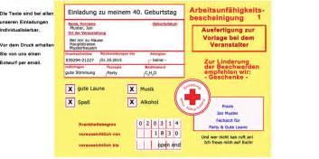 sprüche zum 50 geburtstag witzig einladungskarten zum geburtstag einladungskarte als krankmeldung krankenschein zum geburtstag