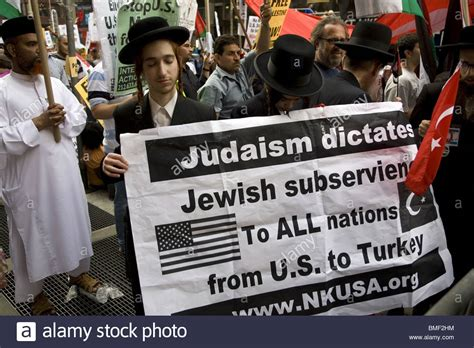 Antizionist Orthodox Jews With Palestinians And Others