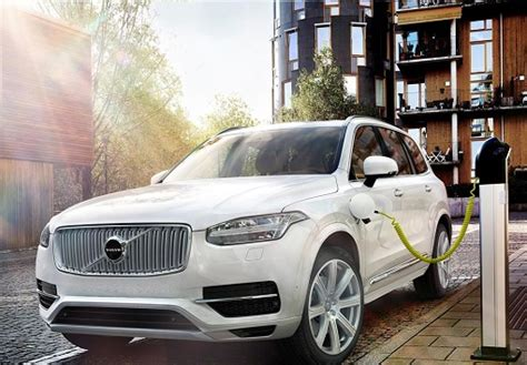 leading  world volvo    electric hybrid