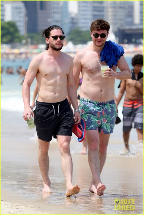 tye sheridan swimsuit kit harington lets people touch his ripped abs in rio