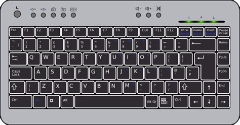 Free Keyboard Cliparts, Download Free Clip Art, Free Clip