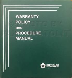 1980 Dodge  U0026 Plymouth Van Repair Shop Manual Original
