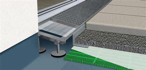 entwässerungsrinne einfahrt pflicht entw 228 sserungsrinne vor terrassent 252 r barrierefreie bauplanung mk bauplanung aco self entw
