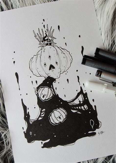 Newest For Art Inktober Misfit Drawing | Creative Things ...