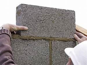 gros oeuvre parpaing beton mortier ciment fer With plan maison 2 niveaux 19 comment poser un seuil de porte