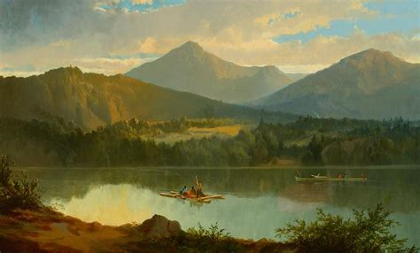 Western Landscape Painting By John Mix Stanley